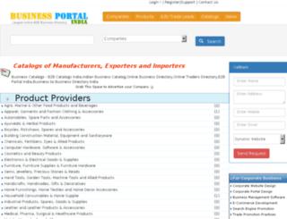 catalogs.businessportalindia.com screenshot
