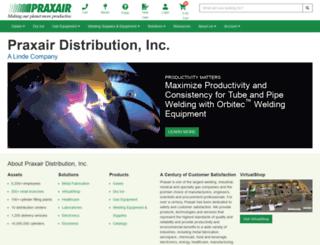 catalogs.praxairdirect.com screenshot