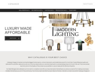 catalogue.com.sg screenshot