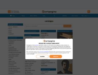 catalogus.startpagina.nl screenshot