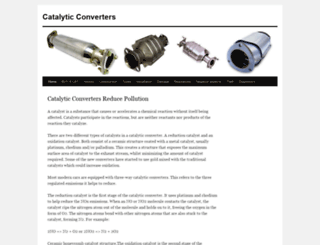 catalyticconverters.com screenshot
