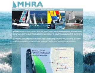 catamaranracing.org screenshot