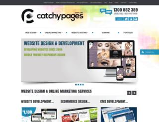 catchypages.com.au screenshot