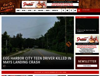 catcountry1073.com screenshot