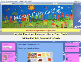 catemaestra.blogspot.it screenshot