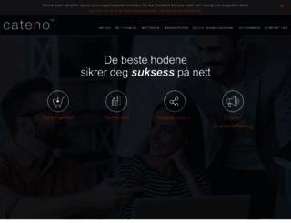 cateno.no screenshot