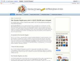 catequesecomcriancas.blogspot.com.br screenshot