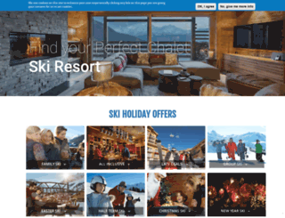 catered-ski-chalets.co.uk screenshot