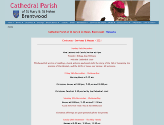 cathedral-brentwood.org screenshot