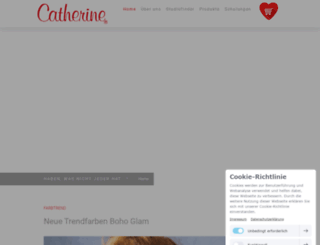 catherine-de.com screenshot