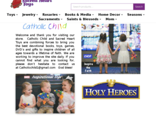 catholicchild.com screenshot