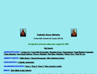 catholicdoors.com screenshot