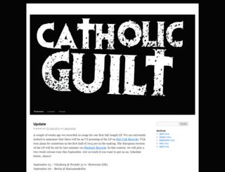 catholicguilt.blogsport.at screenshot