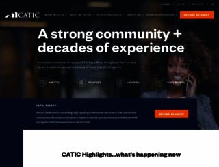 catic.com screenshot