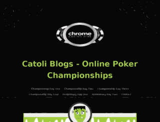 catoliblogs.com screenshot