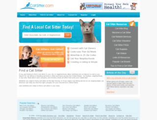 catsitter.com screenshot