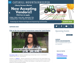 catskillmountainkeeper.org screenshot