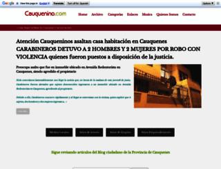 cauquenino.com screenshot
