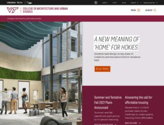 caus.vt.edu screenshot