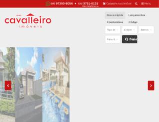 cavalleiroimoveis.com.br screenshot