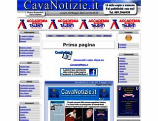 cavanotizie.it screenshot