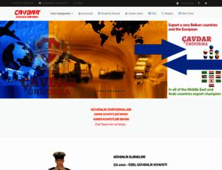 cavdaruniforma.com screenshot