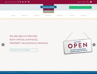 cavendishresidential.com screenshot
