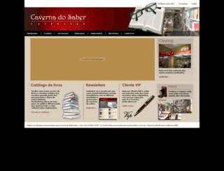 cavernadosaber.com.br screenshot