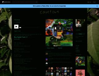 cavetown.bandcamp.com screenshot
