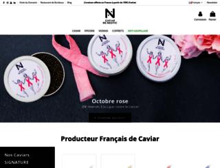 caviar-de-neuvic.com screenshot