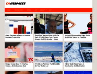 cawebpages.com screenshot