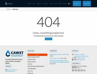 cawst.org screenshot