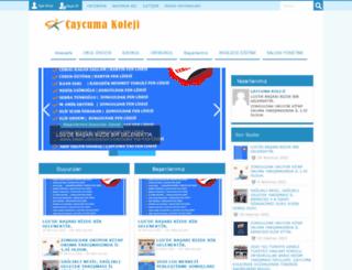 caycumakoleji.com screenshot