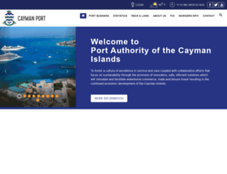 caymanport.com screenshot