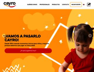 cayro.es screenshot