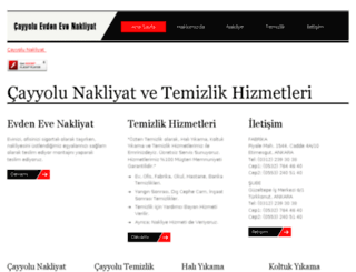 cayyolutemizliknakliyat.com screenshot