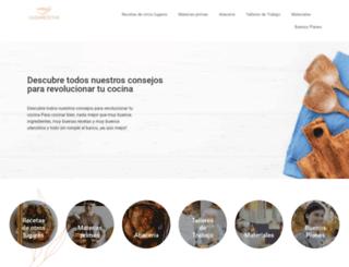 cazarecetas.com screenshot