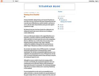 cazaworld.titanpad.com screenshot