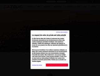 cazelis.com screenshot