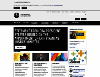 cba.org screenshot