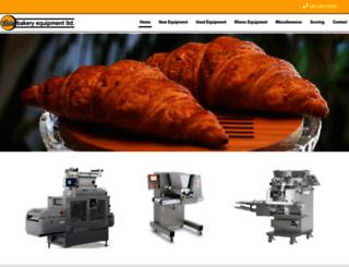 cbebakeryequipment.com screenshot