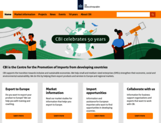 cbi.eu screenshot