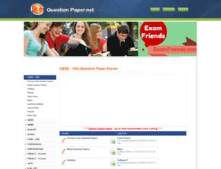 cbse-10th.questionpaper.net screenshot