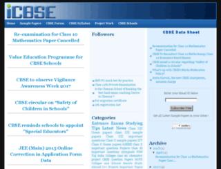 cbse-sample-papers.blogspot.com screenshot