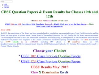 cbse.net-question.in screenshot