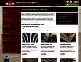 cbssheetmetal.com screenshot