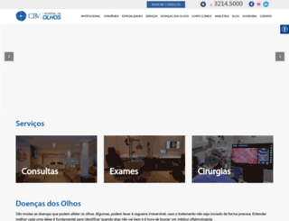 cbv.med.br screenshot