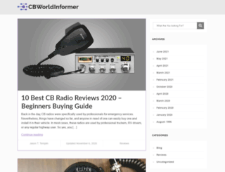 cbworldinformer.com screenshot