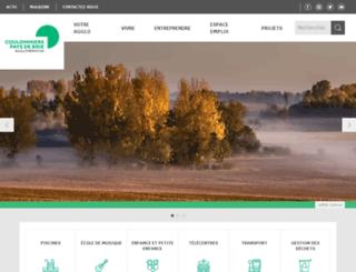 cc-paysfertois.fr screenshot