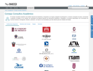 cca.inegi.org.mx screenshot